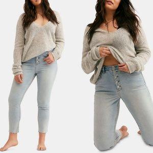 NWT Free People Curvy Mardi High Rise Skinny Jeans